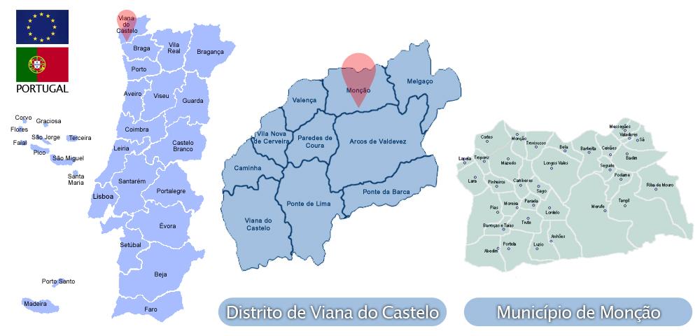 concelho de Monção