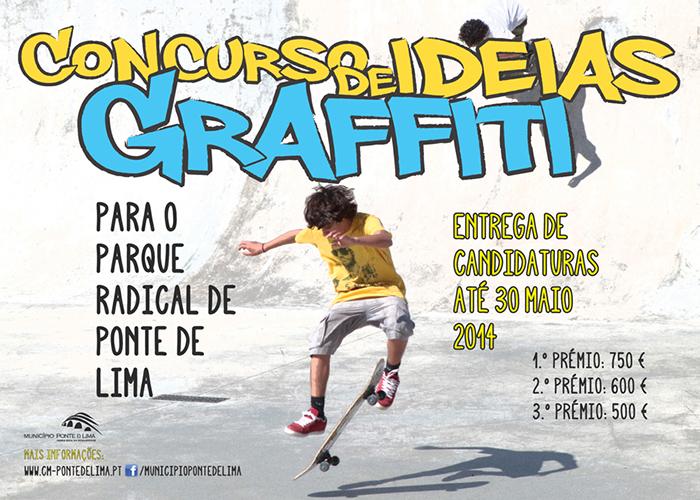 Concurso Ideias Graffiti ponte de lima